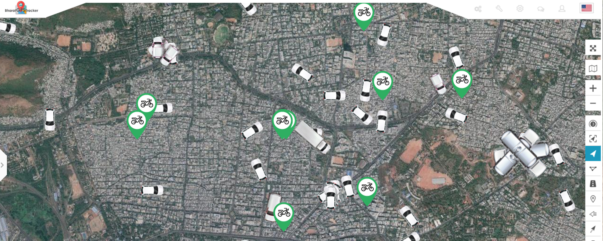 Bharat Gps Tracker Vehicle Gps Tracking Service In India
